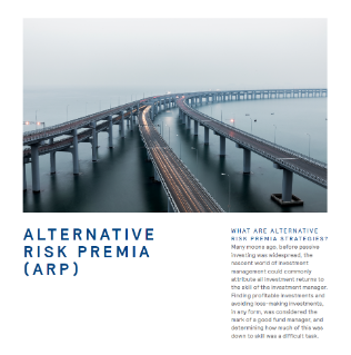 Alternative Risk Premia (ARP)