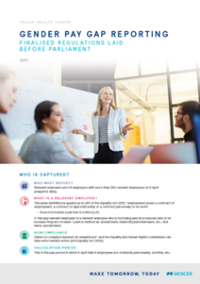 Gender Pay Gap White Paper